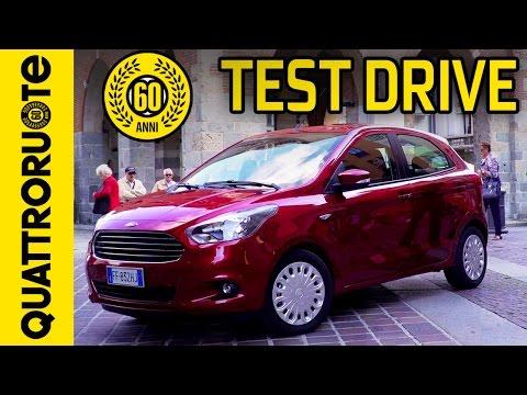 Nuova Ford Ka Il Test Drive Di Quattroruote