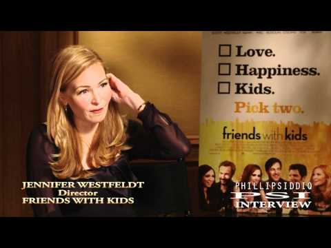 Jennifer Westfeldt Interview With Phillip Siddiq For Friends With Kids.