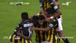 هدف الاتحاد الأول ضد الباطن (عدنان فلاته ) في الجولة 8 من دوري جميل