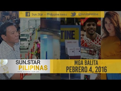 Live: Sun.Star Pilipinas Febuary 4, 2016
