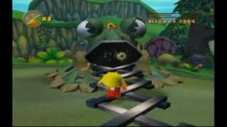 Pac-man: World 2 - Blinky's Killer Frog (Boss battle)