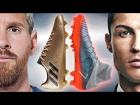 Ronaldo VS Messi - Boot Battle: Nike Superfly V CR7 vs adidas Messi16.1 Test & Review