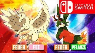5 Mögliche Neue Pokemon TYPEN-KOMBIS!👀