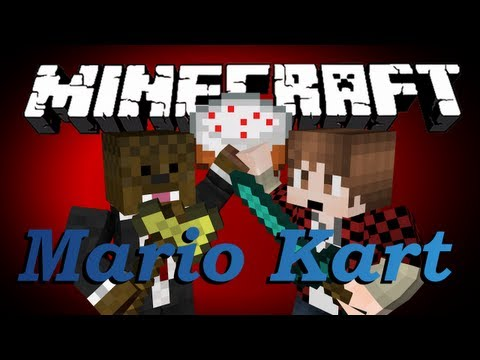 Minecraft Mario Kart (Awesome Resource Pack) w/ BajanCanadian!