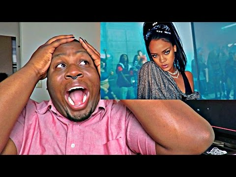 "CALVIN HARRIS FT RIHANNA ""THIS IS WHAT YOU CAME FOR (REACTION)"