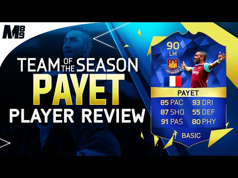 FIFA 16 TOTS PAYET REVIEW (90) FIFA 16 Ultimate Team Player Review + In Game Stats