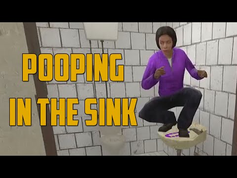 POOPING IN THE SINK! (Garry's Mod: Murder)