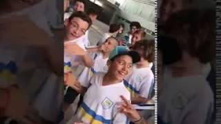 FC Barcelona star Luis Suarez shocks young Uruguay fans on Nou Camp tour