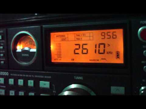 2610 kHz Radio Sacramento , Sacramento / MG [ Harmonico 3 X 870 kHz = 2610 kHz]