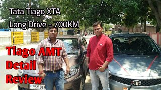 tata tiago XTA details review with 700Km Journey || automatic car | tata tiago XTA review in hindi