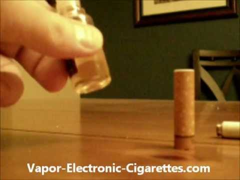 How to Refill Your E Cigarette Cartomizer Cartridge - Cig2o. V2 Cigs and More