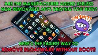 Download How to uninstall manufacturer junk & non removable bloatware apps android?(no root: using Debloader) 3Gp Mp4