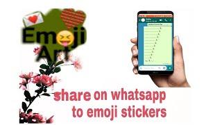 Emoji art for whatsapp ☺️