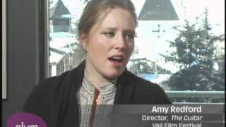 Amy Redford at the Vail Film Festival