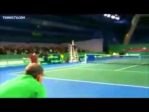 Backwards Tennis - David Ferrer vs Fabio Fognini
