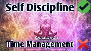 Self Discipline | आत्मानुशासन की शक्ति | Hindi Motivational Video | Time Management Motivation