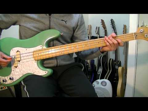 Soda Stereo | Un Misil En Mi Placard | Bass Cover HD