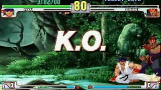 Street Fighter III 3rd Strike speed run 2/2
