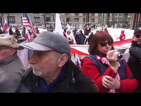 PROTEST PRZECIWKO USTAWIE S 447 CHICAGO 03 31 2019