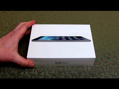 Box of Ipad Mini With Retina Display Ipad Mini Retina Unboxing