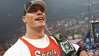 WWE Champion John Cena gets drafted to Raw