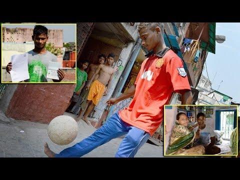 Slumdog Striker Rajib Roy : From Red Light District Of Kolkata To Train With Manchester United video