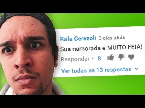 LENDO COMENTÁRIOS - SUA NAMORADA É MUITO FEIA! thumbnail