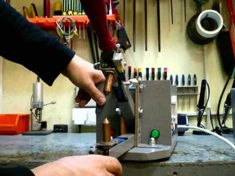 Изготовление точечной сварки своими рук