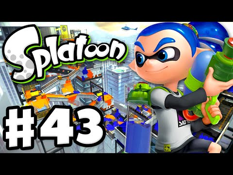 Splatoon - Gameplay Walkthrough Part 43 - Moray Towers! (Nintendo Wii U)