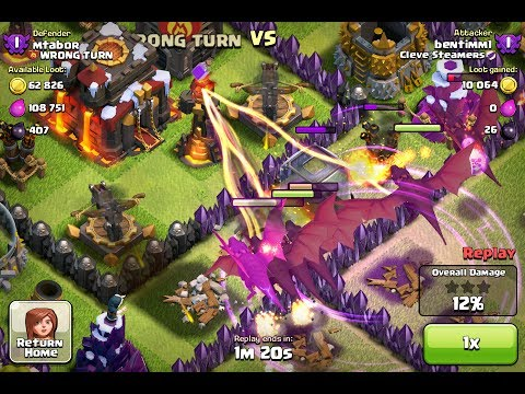 Clash of Clans - Level 3 Inferno Tower Gameplay - YouTube