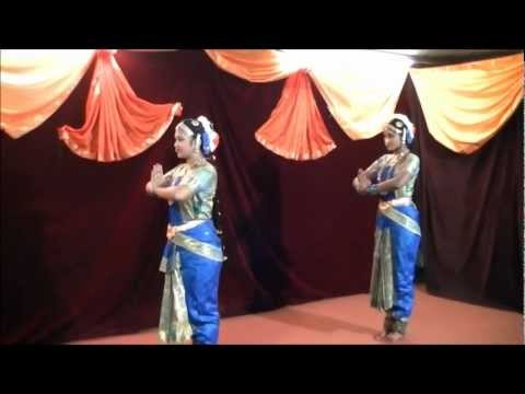 Navratri Festival ,bharatanatyam Performance  Stoneleigh Amman 19-10-2012 Part 1 video