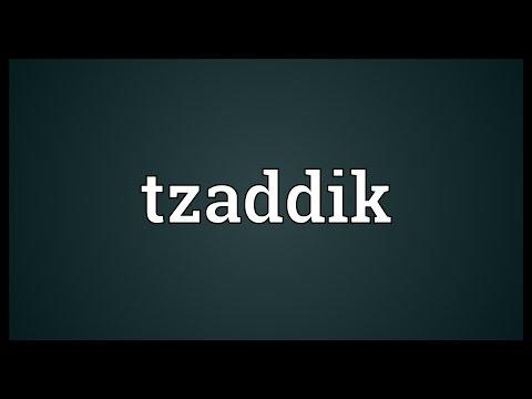 Header of tzaddik