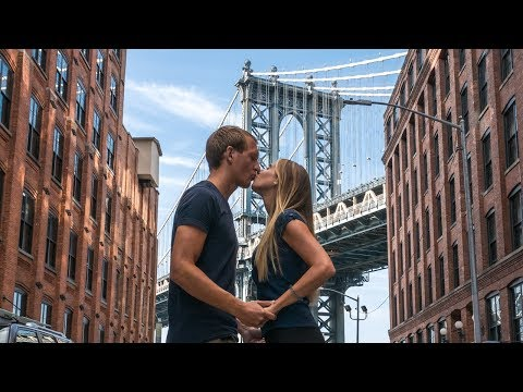 Umzug nach Brooklyn + Brooklyn Bridge, Burger und Donuts - New York | VLOG #293