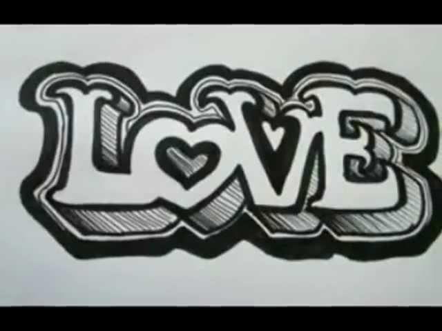 Видео урок как нарисовать на бумаге граффити GIRL | Граффити