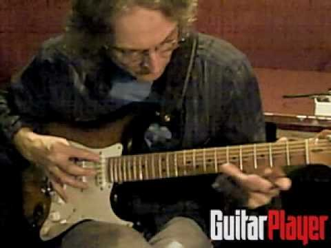 Sonny Landreth Plays Solo Song Backstage