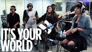 "Jennifer Hudson Video - Jennifer Hudson ""It's Your World"" // SiriusXM // Heart & Soul"