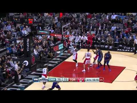 Charlotte Hornets vs Toronto Raptors | January 8, 2015 | NBA 2014-15 Season
