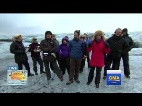 Amy Robach Conquers Iceland's Hidden World