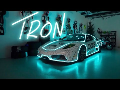 TRON F1 FERRARI! How Did They Do That?
