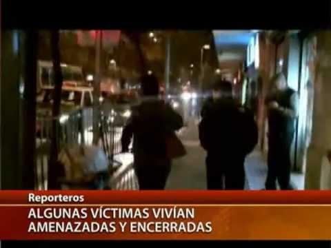 Trata de blancas en Chile / 2º parte - CANAL 13 2011