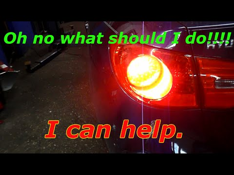 How to replace the brake light switch on a 2009 Hyundai Elantra
