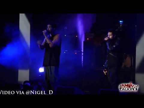 The Weeknd x Drake Preform 'Trust Issues @ 2nd Annual OVO Fest