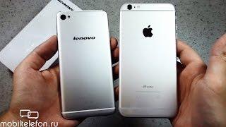 Распаковка Lenovo S90 Sisley: Android-смартфон по образу iPhone 6 (unboxing)