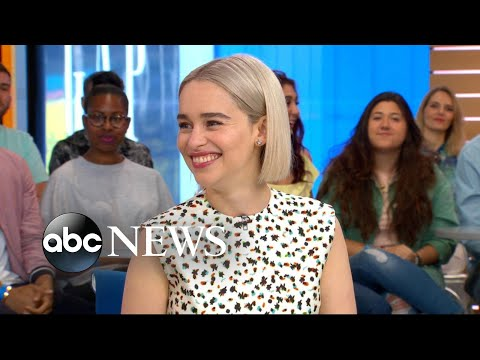 Emilia Clarke opens up about 'Solo: A Star Wars Story'