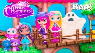 LITTLE CHARMERS Nickelodeon Little Charmers Spooky Surprise  Hazel Toys Video Parody