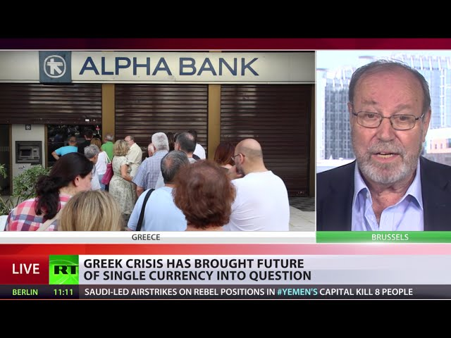 Swiss solution for Greece: two currencies - Euro co-designer