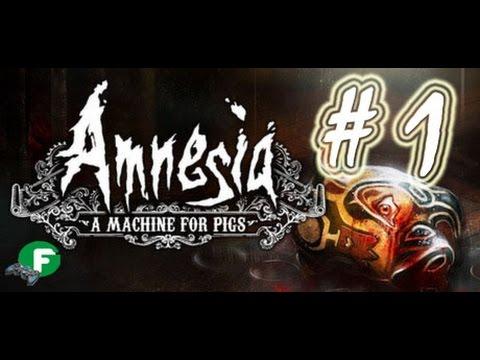 Amnesia A Machine for Pigs прохождение #1 ПК на русском языке