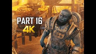 GOD OF WAR Gameplay Walkthrough Part 16 - Midgard (PS4 PRO 4K Commentary 2018)