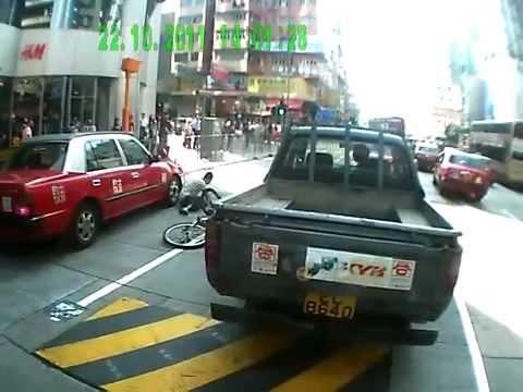 ДТП с участием велосипедиста и такси