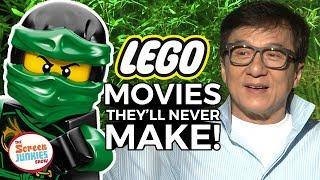 Lego Movies They'll NEVER Make w/ Jackie Chan & Ninjago Cast